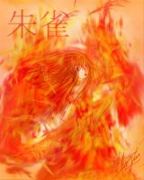 Suzaku - Flames of the South by Cruzerchic123