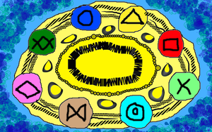 The Hexoskeleton spell seal by conlimic000