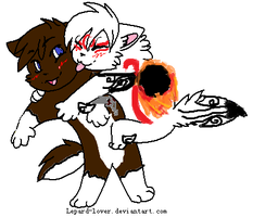 Ammy Licking Link :3 by The-Heir-of-Time