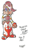 *TIDES OF ARES*:  Princess Sally Acorn [Formal] by Armpit-Warrior