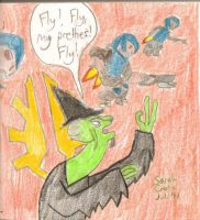 Wicked Witch of High Charity by AhstTraotee