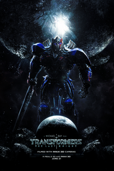 Transformers The Last Knight (2017) Optimus Poster by CAMW1N