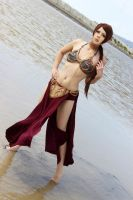 Slave Leia - Water by AliCat2011