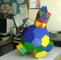 Buster the cat polyhedron by Hop41