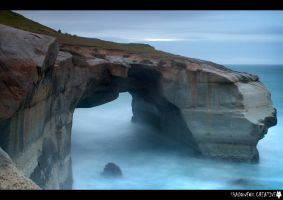 Tunnel Beach 3 by shadowfoxcreative