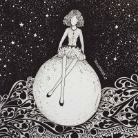 one night on the moon by mahinaz
