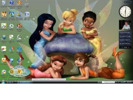 Tinkerbell and Friends by sailor-kitty19