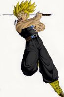 SSJ Trunks by Viglione