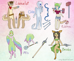 ~Revamped characters~ by Siinys