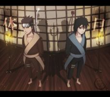 Young Uchiha and Senju clan ancestors by senju64