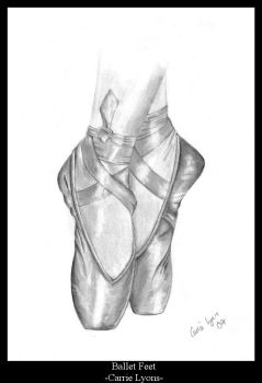 Ballet Shoes by carriephlyons