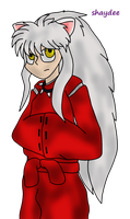 InuYasha by The-Real-Shaydee