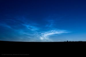 Cracked Sky by inessentialstuff