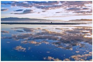 Blue- Great Salt Lake by tourofnature