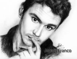 james franco by rayjaurigue
