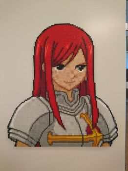Erza Scarlet by MagicPearls