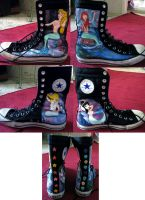 Mermaid Lagoon Shoes by MrSmearkase