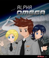 Alpha Omega Title Page by D-Prime