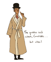 Community: Inspector Spacetime by cannorachan