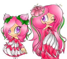 .:new character:.. Paeonia the seedrian by SkyTye
