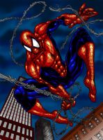 spidey color by mannieboy