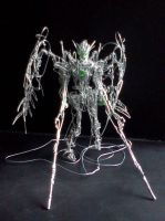 Wing Zero Custom in wire (twin buster rifle... by pepele