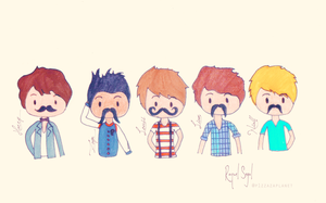 One Direction chibi by raquelsegal