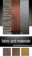 Fabric texture pack 2 by beckasweird