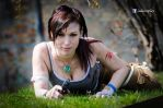 Lara Croft cosplay - Tomb Raider Reborn by AdaCroft