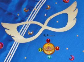 Sailor Moon - manga, Prism Power brooch - locket by Bunnymoon-Cosplay