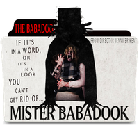 The Babadook Folder Icon by amirtanha18