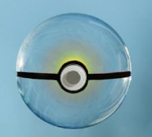 basic glass pokeball by missxkay