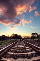 The Tracks by Leukeh