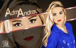 Adma Andrade #TEAMO by uoston