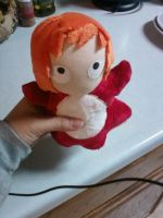 Ponyo Plushie by Love-Who