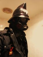 New Helm and gasmask by Taurus-ChaosLord