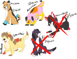 NDS Point Adopts by Leopard-Of-Shadows