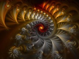 The Dance Of The Spirals  by eReSaW