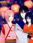 Uchiha Family Festival by Fanychan by FanychanCosplay