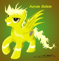 Aurum Golem - OC's by LightDragon87
