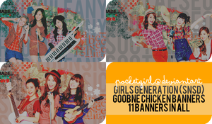 SNSD Goobne Chicken Banner Collection by pocket-girl