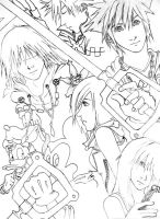 Destinies Intertwined--KH2 by cafe-lalonde
