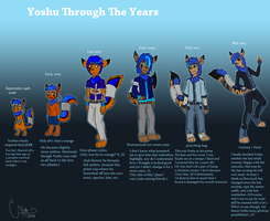 Yoshu : Through The Years by Corriezodori