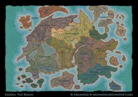 EXR: Map of the Realm by Arcandio