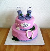 Fashionista Cake by Naera
