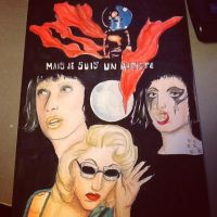 Marry the Night Drawing by Madonna1250