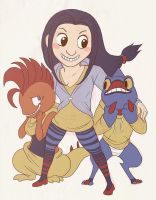 annie and fightin types by edface