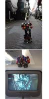 Italy with Optimus by wcomix