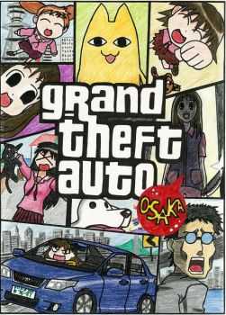 Grand Theft Azumanga Daioh by NickIsANoob