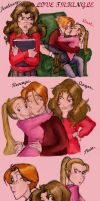 Love Triangle R-H-L by louloudia1983